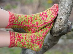 Ravelry: Spring is coming pattern by Anna Mäkilä Spring Is Coming, Winter Is Coming, Knitting Socks, Knit Socks, Ravelry, Knitting Patterns, Knit Crochet, Anna, Malli