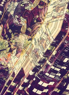 CITY PATTERN by atelier olschinsky , via Behance