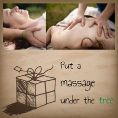 Put a massage under the tree this year!