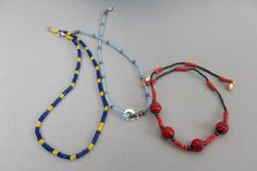 Boys jewelry   chokers  $10.00 each  what ever theme or team that your little guy likes I can do  football and soccer too  got spartan and michigan colors too