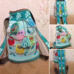 Owl Mochila Bag This would be perfect for me, wish I had the pattern, Sister From the South, LindY G