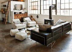 Virlova Interiorismo: [Industrial] Ecléctico industrial en Brooklyn
