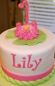 lily name cake Happy Birthday Lilys O Pinterest Happy