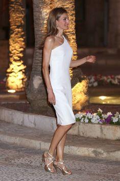 Letizia,reina de España,en Mallorca,agosto 2014.
