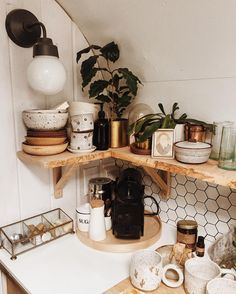 "262 Likes, 10 Comments - Natasha Lawyer (@natashamakesceramics) on Instagram: ""A little pottery clutter around the airstream. Opening the shop to sell a few pieces at the end of…"""