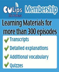 Free English podcasts | Culips ESL Podcasts