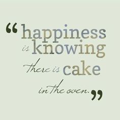 Happiness is knowing there is cake in NICKY's oven! @wowsrose