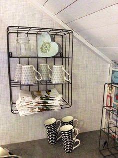 Trådhylla Shelves, Home Decor, Shelving, Decoration Home, Room Decor, Shelving Units, Home Interior Design, Planks, Home Decoration