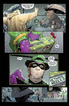 Dc comics Riddler | This Just Happened: The Riddler activates Phase 2