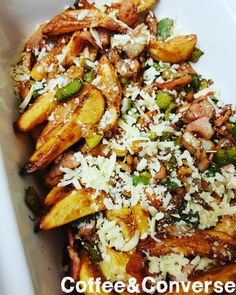Dirty Fries Actifry Recipe – Syn Free – Coffee & Converse Slimming World Treats, Slimming Eats, Slimming Word, Dirty Fries Recipe, Actifry Recipes Slimming World, Chicken And Bacon Pasta Bake, Air Fried Food, Syn Free, Meal Planning