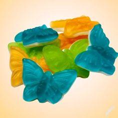 Želé ovocné motýlci -  MAXI BALENÍ - 1kg