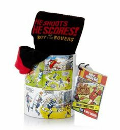 Roy of The Rovers® Mug & Freshfeet Socks with Silver Technology [T40-9511G-S]