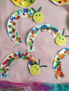 Rainbow caterpillars