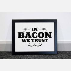 in bacon we trust!