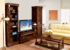 Living EDINBURGH | Mobila de living clasica | MobilaEdion.ro Edinburgh, Woodworking, Furniture, Home Decor, Decoration Home, Room Decor, Home Furnishings, Carpentry, Wood Working