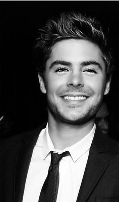 Zac Efron- can this man get any hotter? I mean really...