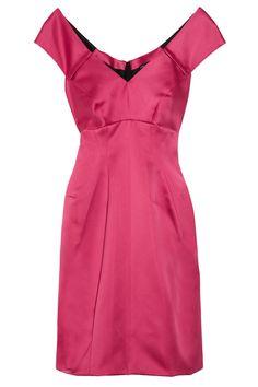Marc Jacobs Pleated Satin Dress, $525; theoutnet.com