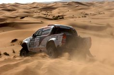DAKAR 2015 TEST ON RALLY OF MOROCCO FOR TOYOTA HILUX