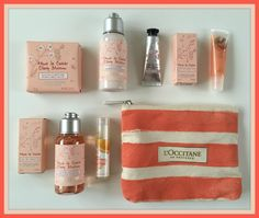 Suze likes, loves, finds and dreams: Fabulous Freebie Weekend Giveaway: Orange L'Occitane & Bodyshop Products