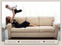 Shop quality custom leather furniture in Scottsdale, Arizona. Ritz Sofa comes in 30 different configurations. Leather Furniture, Leather Sofa, White Leather, Custom Sofa, Custom Furniture, Custom Leather, Chair And Ottoman, Contemporary, Modern