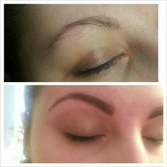 Gorgeous #hdbrows my me. Before and after photos.