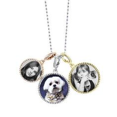 Customized photo charms :) This is lovely!