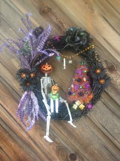 Halloween Wreath-Halloween Holiday