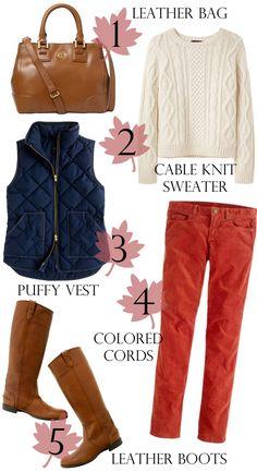 Southern Curls & Pearls: Fall Wardrobe Staples
