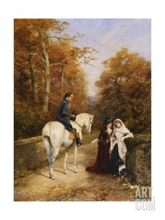 The Peacemaker Art Print by Heywood Hardy at Art.com