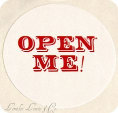 Open Me Seals . Alice in Wonderland . Loralee by LoraleeLewis, $6.00