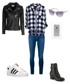 """Bez naslova #44"" by melisa-761 ❤ liked on Polyvore featuring Frame Denim, adidas, IRO, LA: Hearts, Charlotte Russe, men's fashion and menswear"