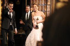 Jennifer Lawrence Photos - 85th Annual Academy Awards - Backstage - Zimbio