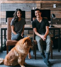 """Shamontiel wrote """"Mobile app helps pet-loving singles find love ~ When your dog is all you need to get dates online"""" #petlovers #doglovers #pets #dogmom #dogdad #FetchaDate #onlinedating (Photo credit: Stephanie Liverani/Unsplash)"""