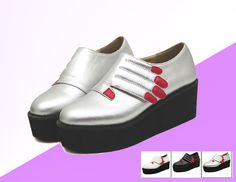 Happy shopping  Color: sliver / White/ Black Shoes size: 35-39  It is very Trendy for mix and match !!