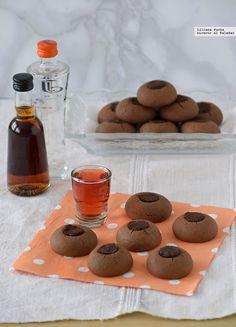 Nutellotti o galletas facilísimas de Nutella. Receta exprés con solo tres ingredientes Cookies Receta, Yummy Cookies, Baking Recipes, Cookie Recipes, Decadent Cakes, Cookie Time, Coconut Cookies, No Cook Desserts, Desert Recipes