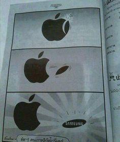 Apple & Samsung # humor-lustig - Technology News Crazy Funny Memes, Stupid Memes, Funny Relatable Memes, Haha Funny, Funny Texts, Funny Jokes, Hilarious Sayings, Funny Pictures Hilarious, Funny Memes For Him