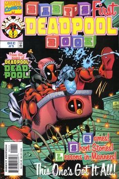 BABY'S FIRST DEADPOOL BOOK, ONE SHOT, MARVEL, 1.998. USA.