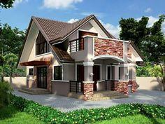 casa marrn bungalow