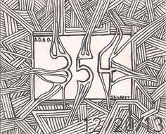 A Doodle A Day #354, ink, 12/20/13