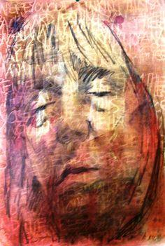 Sleep series mixed media on paper, 2011 Series 3, Mixed Media, Sleep, Paper, Painting, Art, Painting Art, Mixed Media Art, Paintings