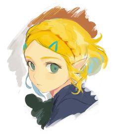 Zelda (Breath of the Wild) - Zelda no Densetsu: Breath of the Wild - Image - Zerochan Anime Image Board Breath Of The Wild, Cry Anime, Princesa Zelda, Botw Zelda, Fanart, Naruto E Boruto, Hyrule Warriors, Girls Anime, Legend Of Zelda Breath