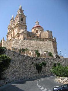 Mellieha church, Malta