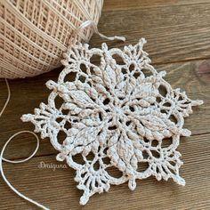 Doily Patterns, Crochet Blanket Patterns, Crochet Motif, Crochet Doilies, Crochet Flowers, Crochet Stitches, Knit Crochet, Crochet Thread Patterns, Crochet Coaster