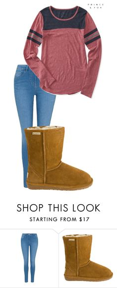 """""""November 17"""" by megaspirit on Polyvore featuring George, Bearpaw and Aéropostale"""