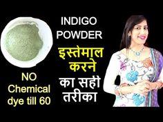 Indigo Powder For Hair, Hair Powder, Indigo Henna, Indigo Dye, Henna Hair Dyes, Dyed Hair, Indigo Hair Color, White Hair, Black Hair