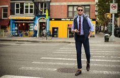 Bows 'n Ties tie & tie bar | Cotton On vest | Topman trousers | Johnston & Murphy shoes | Spektre sunnies | GALLA.