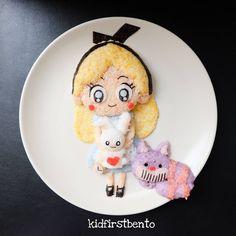 Alice in Wonderland by Kidfirst Bento (@kidfirstbento)