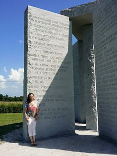 "THE GEORGIA GUIDESTONES. ""A depopulation agenda. Agenda 21 is real. A quiet, plausibly deniable depopulation agenda. A culling has begun. Most people, don't even realize, and as I have discovered, don't want to know. State Sponsored Terrorism, Hollywood Music, Evil Empire, Question Everything, Flat Earth, Freemason, New World Order, Conspiracy Theories, Did You Know"