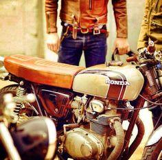 Honda Brat Style #motorcycles #bratstyle #motos | caferacerpasion.com