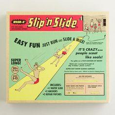 Wham-O Slip-N-Slide http://rstyle.me/n/ivyumr9te